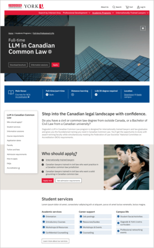 Canadian Common Law landing page
